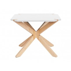 Table d'appoint blanc Mister X Large