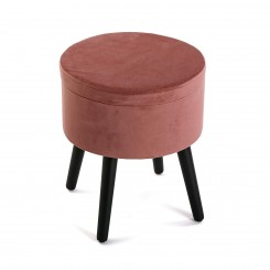 Pouf velours marron TERRACOTA