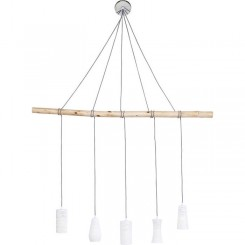 Suspension 5 lampes DINING PUNTI Kare Design