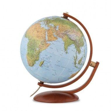 Globe terrestre lumineux Maximus Relief 30