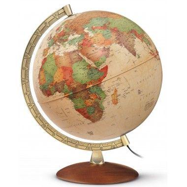 Globe terrestre lumineux Antiquus