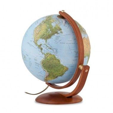 Globe terrestre lumineux Maximus 37