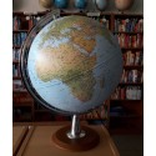 Globe terrestre loupe lumineux Atlantis 40
