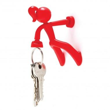 Attrape clés fille rouge magnétique aimant super puissant