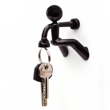 Attrape clés garçon noir magnétique aimant super puissant