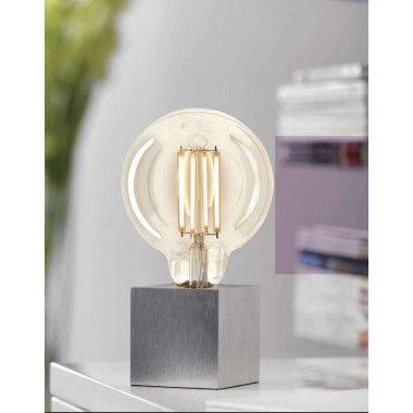 Lampe à poser aluminium CUBIC