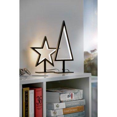 Lampe étoile noir LED LUCY-S sompex