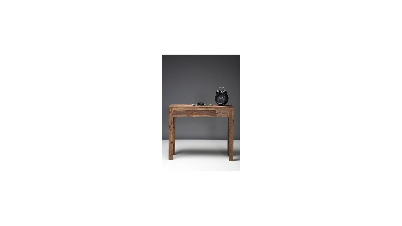 achetez votre console authentico bois avec tiroir 90x30cm. Black Bedroom Furniture Sets. Home Design Ideas