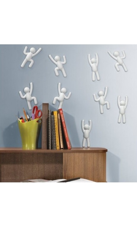 D coration mural bonhomme blanc adh sif climber for Decoration adhesif mural