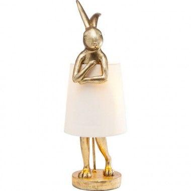 Lampe à poser lapin doré RABBIT