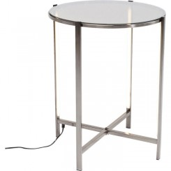 Table d'appoint Haight Ashbury LED ronde