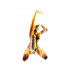 Danseuse orange / rouge LAURA 103 cm