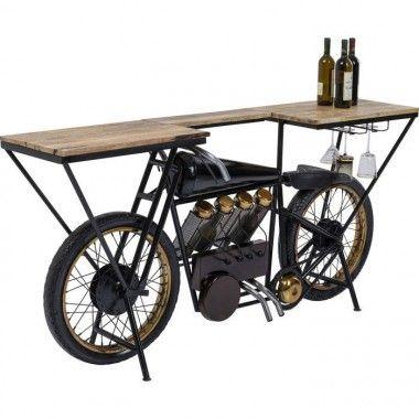 Console Bar à vin Motorbike