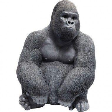 Statue Gorille noir Monkey Gorilla