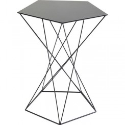 Table d'appoint en acier Miami Wire Ø42 cm