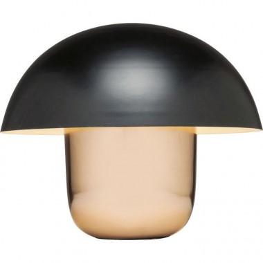 Lampe à poser cuivre noire MUSHROOM
