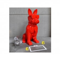 Statue chien cravate XXL RED 1m90