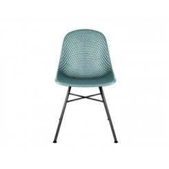 Chaise bleue Diamond MESH