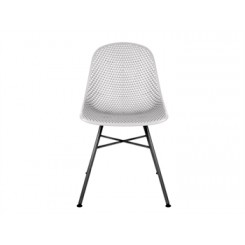 Chaise blanche Diamond MESH