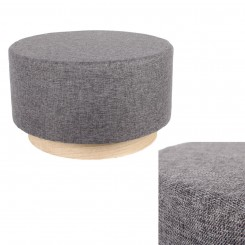 Pouf scandinave anthracite CHAMPI