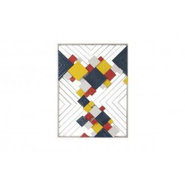 Cadre lignes carrés arty BEAUX-ARTS