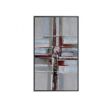 Abstrait vertical 100*60 encadrement aluminium GALLERY