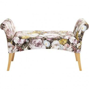 Banquette motif flower MOTLEY
