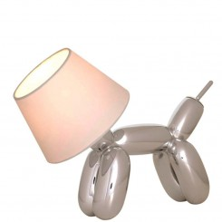 LAMPE DE TABLE CHROMEE DOGGY SOMPEX