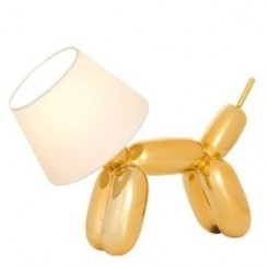 Lampe DOGGY dorée SOMPEX