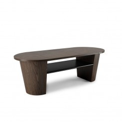 Table basse bois courbé WOODROW