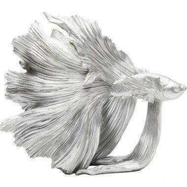 Statuette poisson doré BETTA FISH