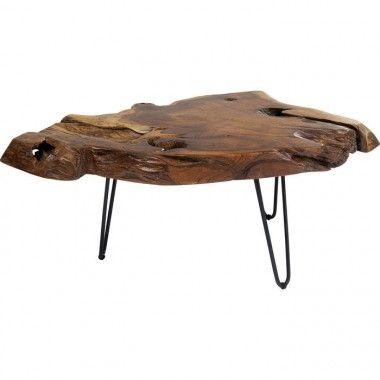 Table d'appoint plateau marbre vert et pieds or PIEDRA