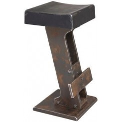 Tabouret de bar Key noir
