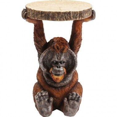 Table d'appoint orang utan ANIMAL