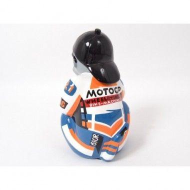 Statue singe moto grand prix cigare BOSS