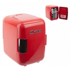 MINI FRIGO DESIGN ROUGE DRINKS