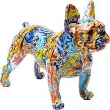 Statue chien debout 31cm STREET-ART