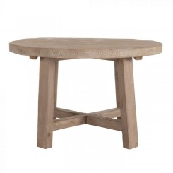 Table bois naturel 200cm MADE