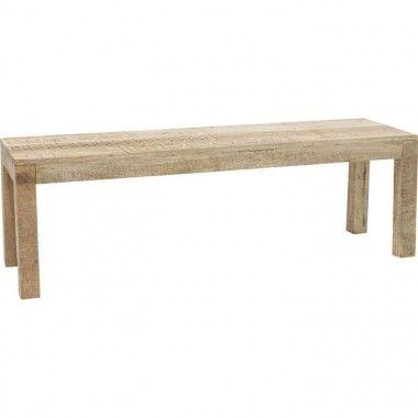 Banc en bois clair ethniques 140cm PURO
