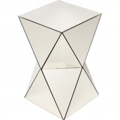 Table d'appoint triangle champagne LUXURY