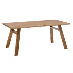 Table à manger 180 cm bois naturel MINLI