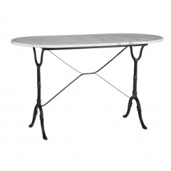 Table bistrot marbre ovale 120 cm AXEL