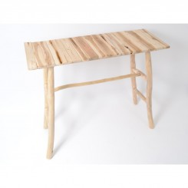 Table mange debout bois flotté TOUNDRA