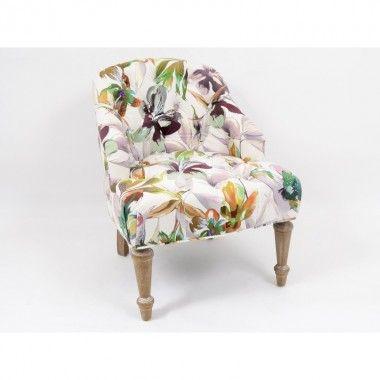 Fauteuil floral CALODYNE