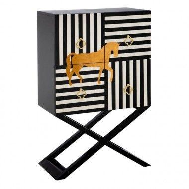Armoire imprimé cheval CABINET