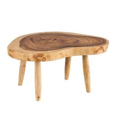 Table basse bois naturel 70 cm ROJU