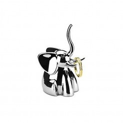 PORTE BAGUE ELEPHANT CHROME ZOOLA UMBRA