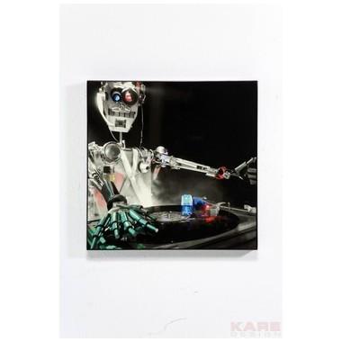Tableau DJ Robot 40x40