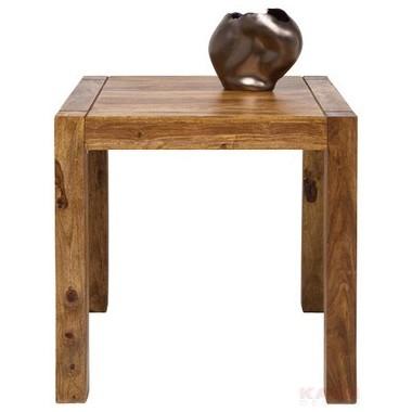 """Table en bois massif """"AUTHENTIQUE"""" 75 x 75"""