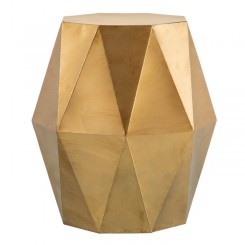 Table d'appoint or metal design DIAMOND